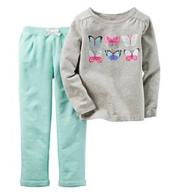Carter's® Baby Girls' 2-Piece Butterflies Set
