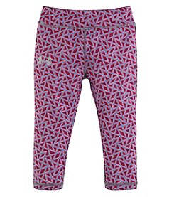 Under Armour® Girls' 2T-6X Chain Grid Capri Leggings