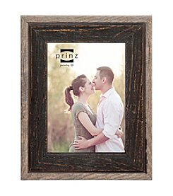 Prinz® 2-Tone Rustic Black Wood Bryce Picture Frame