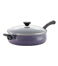 Paula Deen® Riverbend 5-qt. Lavender Speckle Jumbo Cooker with Helper Handle