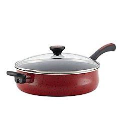 Paula Deen® Riverbend 5-qt. Red Speckle Jumbo Cooker with Helper Handle