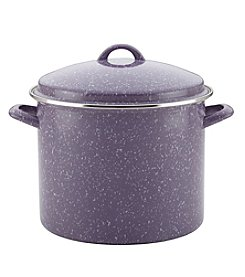 Paula Deen® Lavender Speckle 12-qt. Enamel on Steel Covered Stockpot