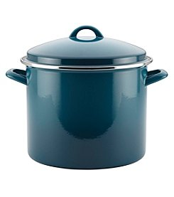 Rachael Ray® Marine Blue 12-qt. Enamel on Steel Covered Stockpot
