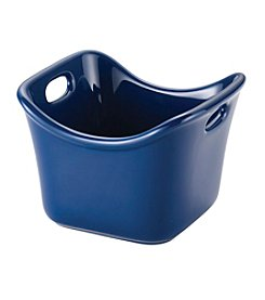 Rachael Ray® Stoneware Blue 10-oz. Individual Square Ramekin
