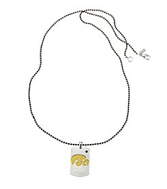accessory PLAYS™ NCAA University Of Iowa Dog Tag Necklace