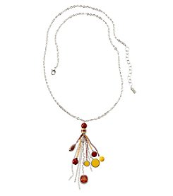 accessory PLAYS™ NCAA Iowa State Tassel And Football Necklace
