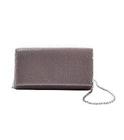 La Regale® Mesh Flap Wallet Clutch