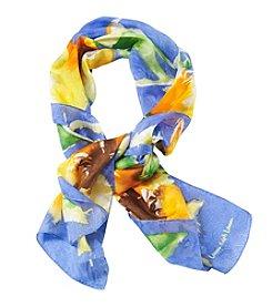 Lauren Ralph Lauren® Dina Sunflower Silk Scarf