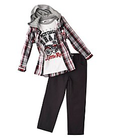 Nannette® Boys' 12M-4T 3-Piece Motorway Champ Set