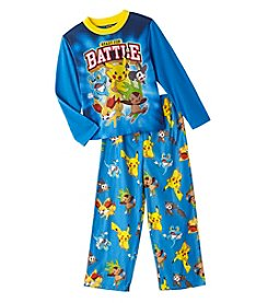 Pokemon® Boys' 4-10 2-Piece Ready For Battle Pajama Set