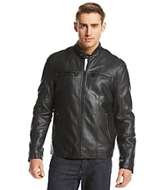 Levi's® Men's Faux Leather Motorcross Racer Jacket