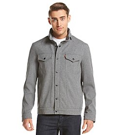 Levi's® Men's Soft Shell Two Pocket Stand Collar Military Jacket
