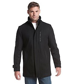 Calvin Klein Men's Wool Carcoat