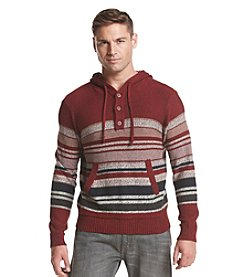 Ruff Hewn Men's Striped Hoodie