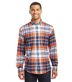 John Bartlett Consensus Men's Long Sleeve Button Down Flannel Shirt