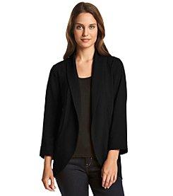 Black Rainn™ Open Blazer Jacket