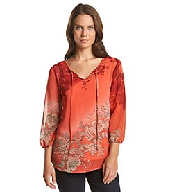 Adiva Misty Flower Blouse