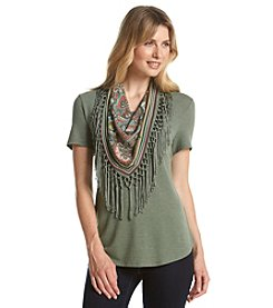 Oneworld® Scarf Top
