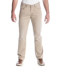 Ruff Hewn Men's Twill Slim Straight Pants