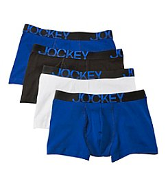 Jockey® Men's 4-Pack Active Stretch Boxer Briefs