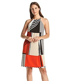 Calvin Klein Coil Halter Dress
