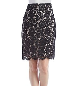 Vince Camuto® Scallop Lace Skirt