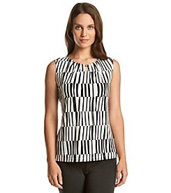 Ivanka Trump® Piano Key Jersey Top