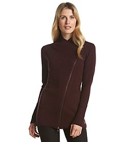 Calvin Klein Performance Asymmetrical Zip Sweater