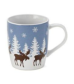 LivingQuarters Moose Mug