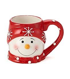 LivingQuarters Snowman Mug