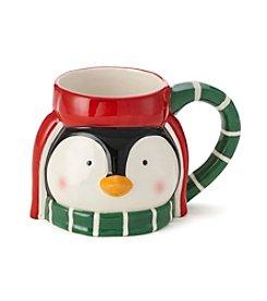 LivingQuarters Penguin Mug