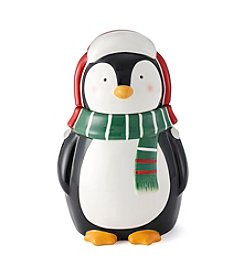 LivingQuarters Penguin Cookie Jar