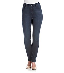 Earl Jean® Dark Stitch Flat Pocket Skinny Jeans