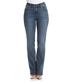Earl Jean® V-Stitch Flat Pocket Slimboot Jeans