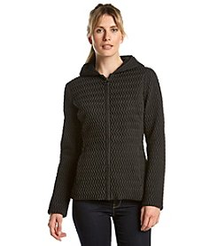 Anne Klein® Zip Front Scrunch Quilt Jacket