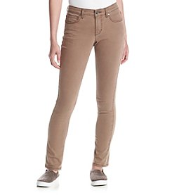 Ruff Hewn Petites' Solid Skinny Jeans