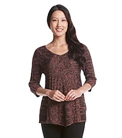 Studio Works® Petites' Marled Pullover Sweater