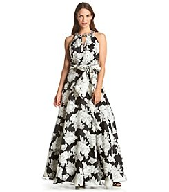Eliza J® Floral Ball Gown