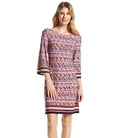 Jessica Howard® Patterned Shift Dress
