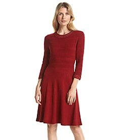 Jessica Howard® Crochet Fit And Flare Dress