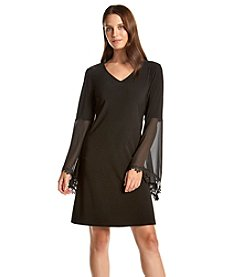 Prelude® V-Neck Trapeze Dress