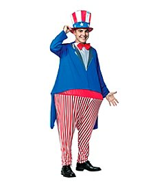 Uncle Sam Adult Hoopster Costume