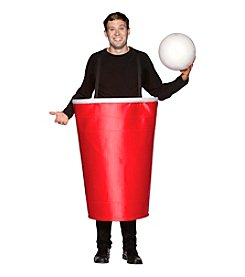 Beer Pong Red Cup Adult Costume