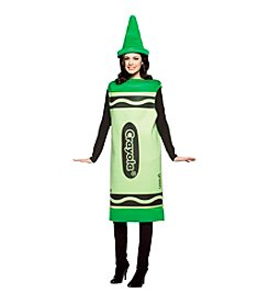 Crayola® Green Crayon Adult Costume