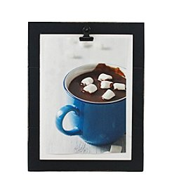 Fetco® Black Wood Clip Frame
