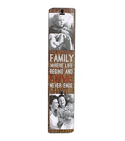 Fetco® 2-Photo Family Love Clip Frame