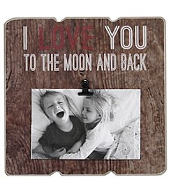Fetco® 'To The Moon And Back' Clip Frame