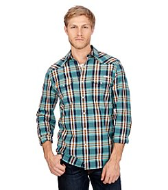 Lucky Brand® Men's Sante Fe Long Sleeve Button Down Western Shirt