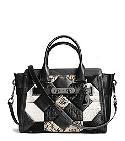 COACH QUILT COACH SWAGGER 27 IN EXOTIC EMBOSSED LEATHER