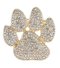Pet Friends™ Goldtone Paw Pin